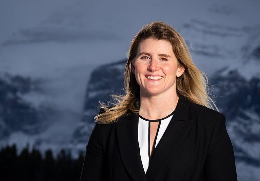 Portrait of Hayley Wickenheiser